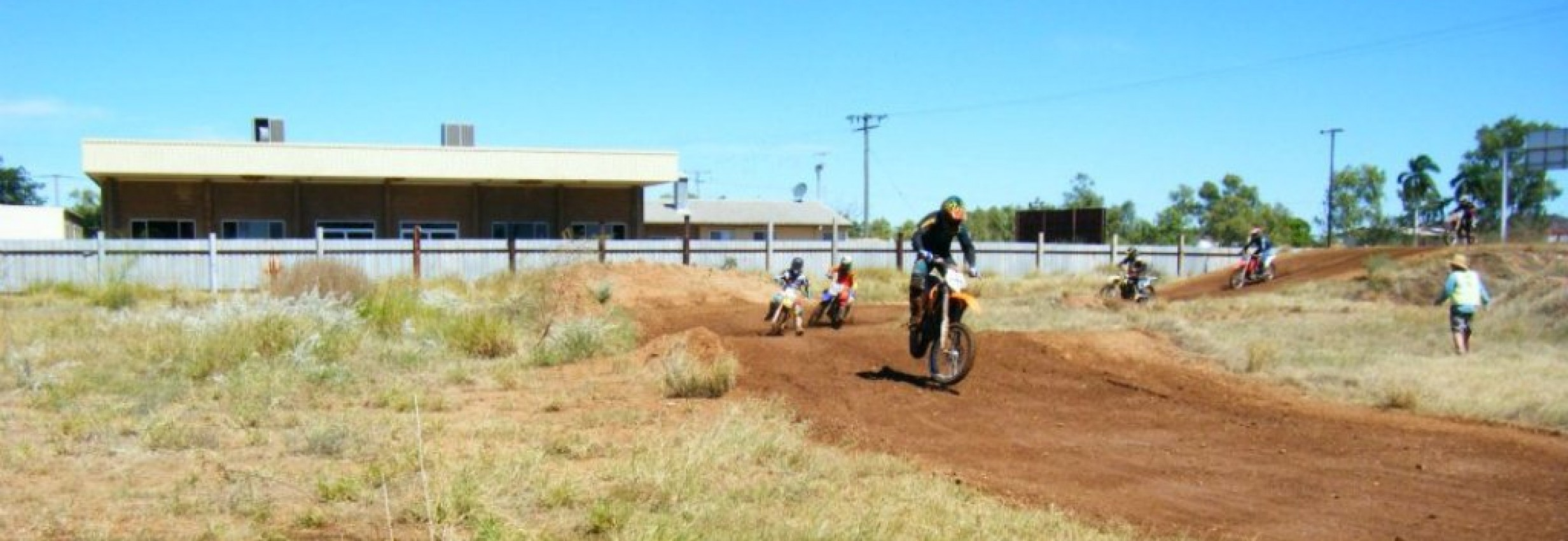 Jubilee Park Motocross Track – Mt Isa Dirt Bike Club